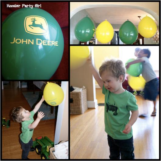 John Deere birthday baloons